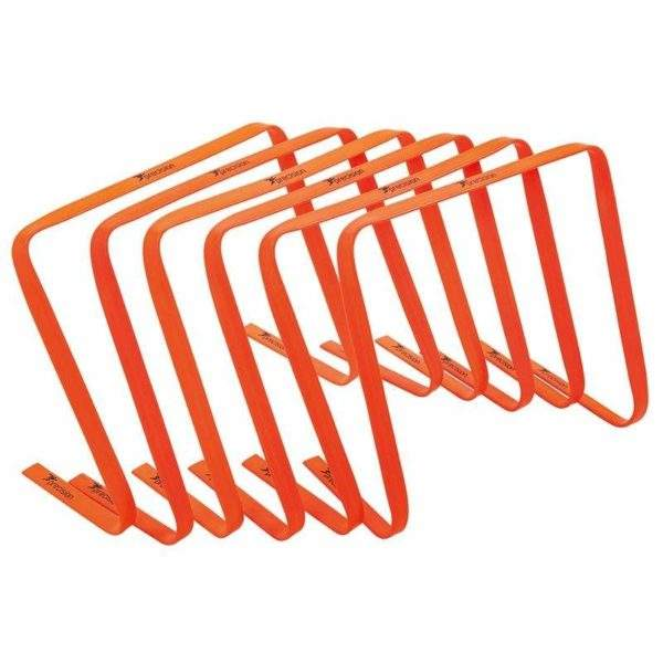 "Precision Flat Hurdle Sets 15"" by Podium 4 Sport"