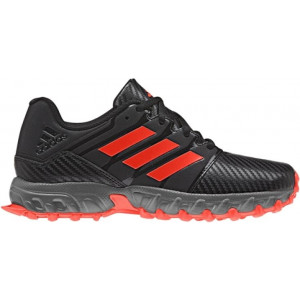 Adidas Junior Hockey Shoe Black by Podium 4 Sport