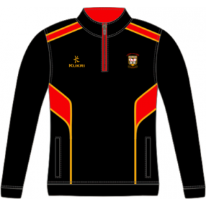 Lagan College Kukri Junior Boys 1/4 Zip Top by Podium 4 Sport