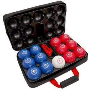 Superior Supersoft Boccia Set in Superior Boccia Case by Podium 4 Sport