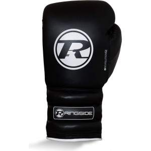 Ringside Revolution G2 Lace Glove Black/White by Podium 4 Sport