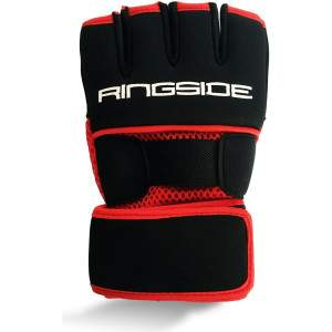 Ringside Pro Gel Hand Wraps Red by Podium 4 Sport