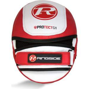Ringside Protect G1 Focus Pads Red by Podium 4 Sport