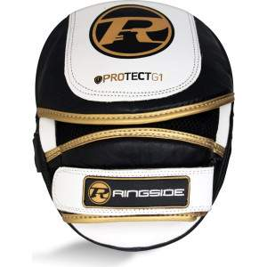 Ringside Protect G1 Focus Pads Black/Gold by Podium 4 Sport