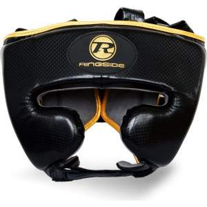 Ringside Pro Fitness Headguard Black/Gold by Podium 4 Sport