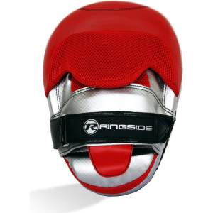 Ringside Protect G1 Hook & Jab Pads Red by Podium 4 Sport