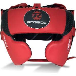 Ringside Omega G1 Ultra Headguard Red by Podium 4 Sport