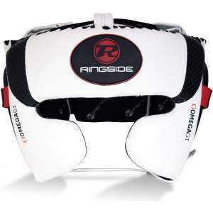Ringside Omega G1 Ultra Headguard White by Podium 4 Sport
