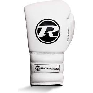 Ringside Revolution G2 Lace Glove White/Black by Podium 4 Sport