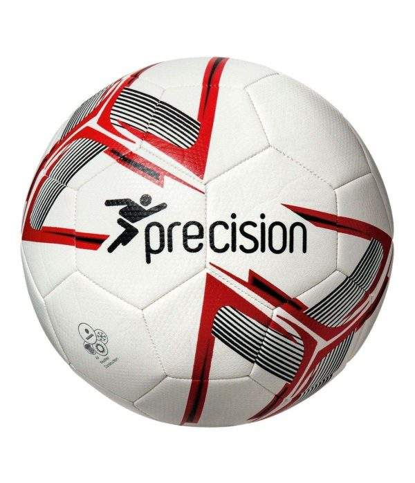 Precision Fusion Training Ball White/Red/Black Size 3 by Podium 4 Sport