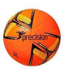 Precision Fusion Training Ball Fluo Orange/Black/Yellow Size 5 by Podium 4 Sport