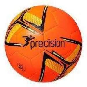 Precision Fusion Training Ball Fluo Orange/Black/Yellow Size 4 by Podium 4 Sport