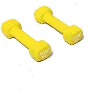 Jordan Ignite Neoprene Dumbell 0.5kg Pair by Podium 4 Sport