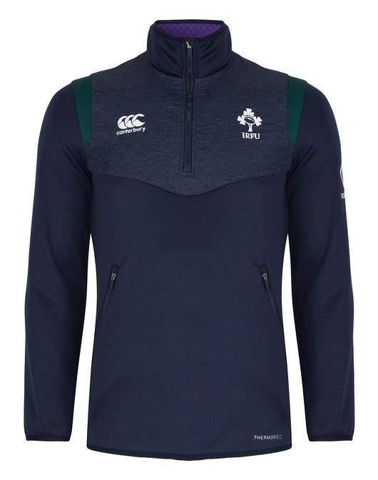 CCC Ireland Junior Thermoreg 1/4 Zip by Podium 4 Sport
