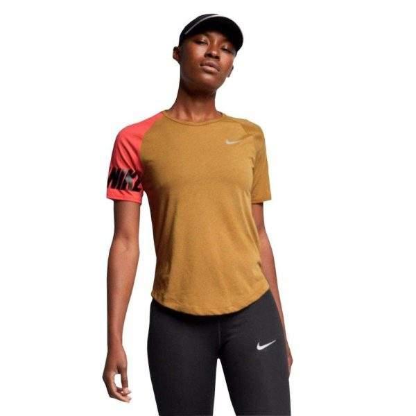Nike Women's Miler SS Top by Podium 4 Sport