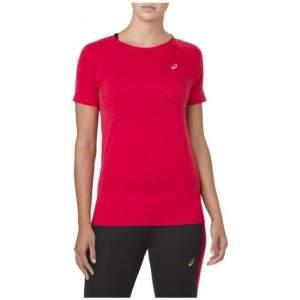 Asics Women's Seamless SS Texture T-Shirt by Podium 4 Sport