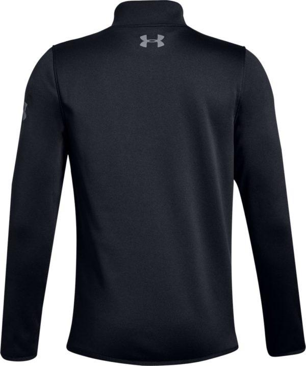 UA Boys Armour Fleece® Elevate ¼-Zip Black by Podium 4 Sport