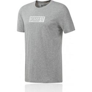 Reebok Men's CrossFit® Move Tee Grey by Podium 4 Sport