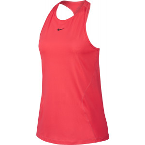 Nike Pro Women's Mesh Tank Red by Podium 4 Sport