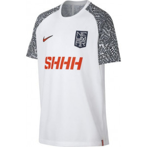 Nike Boys Dri-FIT Neymar Jr. Football Top White by Podium 4 Sport