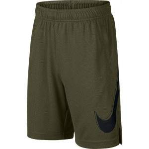 Nike Boys Dri-FIT Graphic Training Shorts Green by Podium 4 Sport