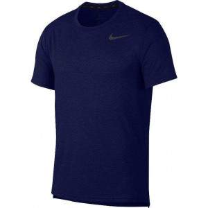 Nike Men's Breathe Training Top Navy by Podium 4 Sport