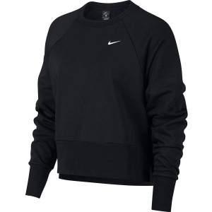 Nike Women's Dri-FIT LS Training Top Black by Podium 4 Sport