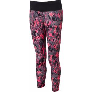 Ronhill Women's Momentum Crop Tight Pink by Podium 4 Sport