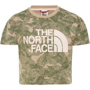 The North Face Girls Cropped T-Shirt Print by Podium 4 Sport