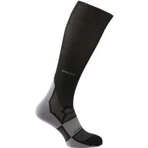 Hilly Men's Compression Socks Black by Podium 4 Sport