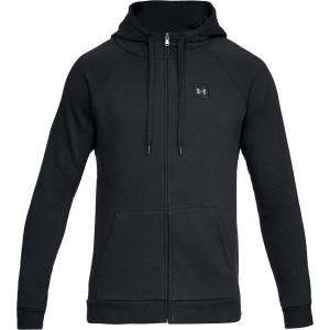UA Men's Rival Fleece Full-Zip Black by Podium 4 Sport