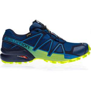 Salomon Men's Speedcross 4 GTX Navy by Podium 4 Sport