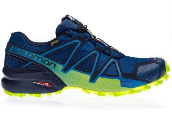 Salomon Men's Speedcross 4 GTX Navy by Podium 4 Sport