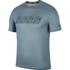 Nike Men's Dri-FIT Miler Tech SS T-Shirt by Podium 4 Sport