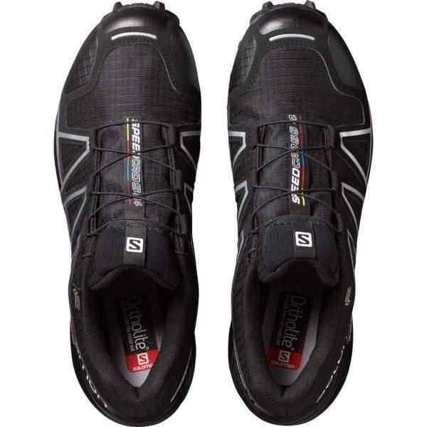 Salomon Men's Speedcross 4 GTX Black by Podium 4 Sport