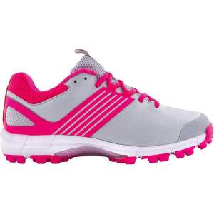 Grays Senior Flash 2.0 Shoe Silver/Pink by Podium 4 Sport