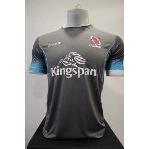 Kukri Kids Ulster 19 Technical T-shirt Charcoal by Podium 4 Sport
