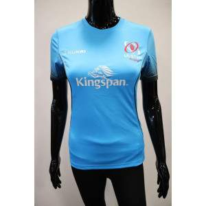 Kukri Ulster Women's Technical T-shirt Flouro Blue by Podium 4 Sport